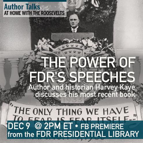 Harvey Kaye on FDR's Speeches