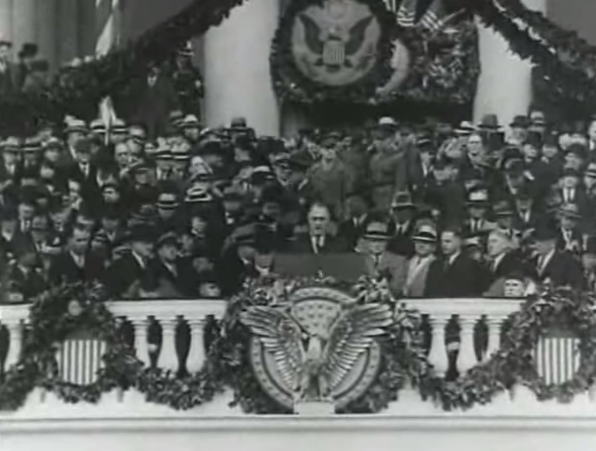 FDR 1933 Inaugural Speech