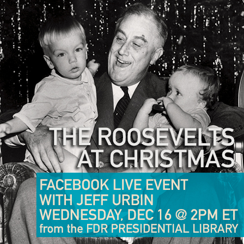 The Roosevelts at Christmas Facebook Live
