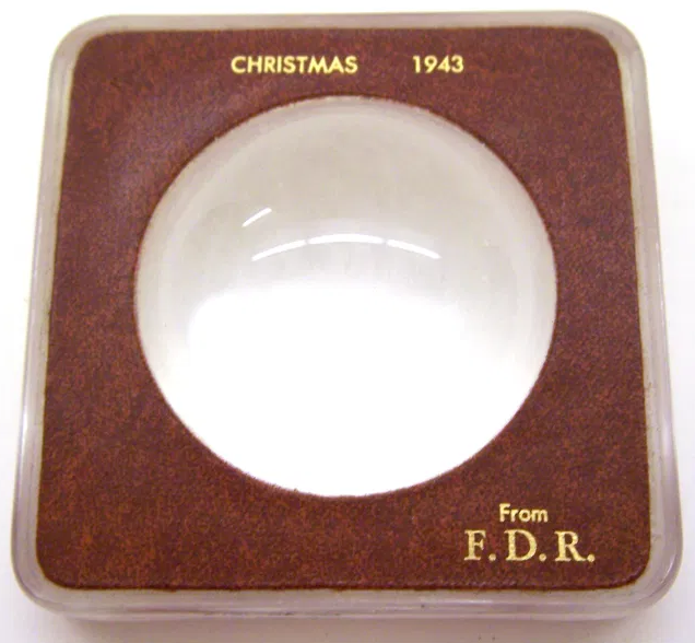 Christmas 1943 gift from FDR