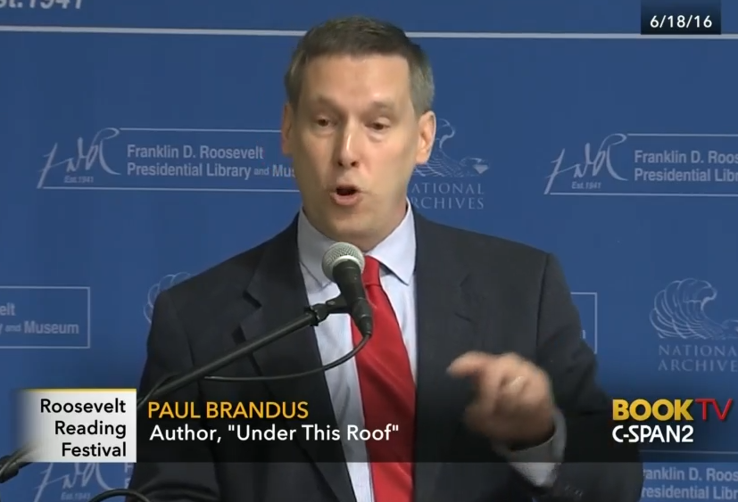 Paul Brandus at the FDR Library