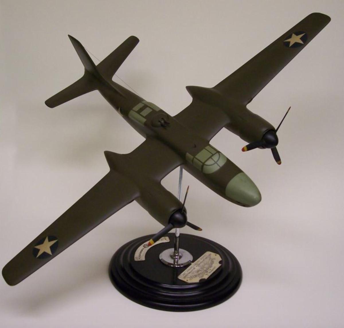 Model of the Douglas A-26 Bomber