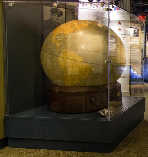 FDR's globe