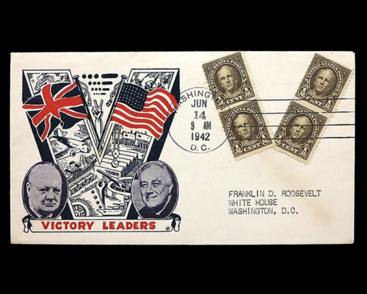 Victory Leaders Commemorative Cover