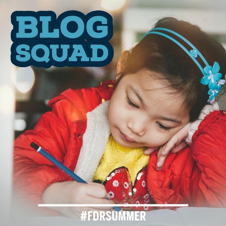 Blog Squad summer activity