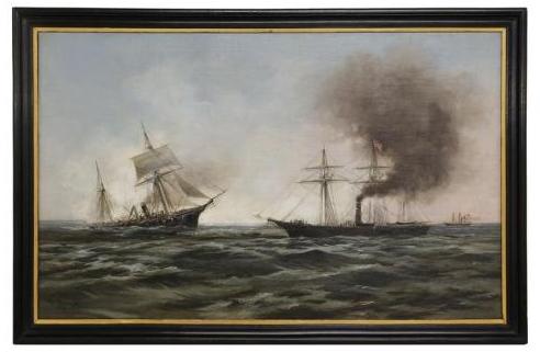 USS Kearsarge Sinking the Alabama