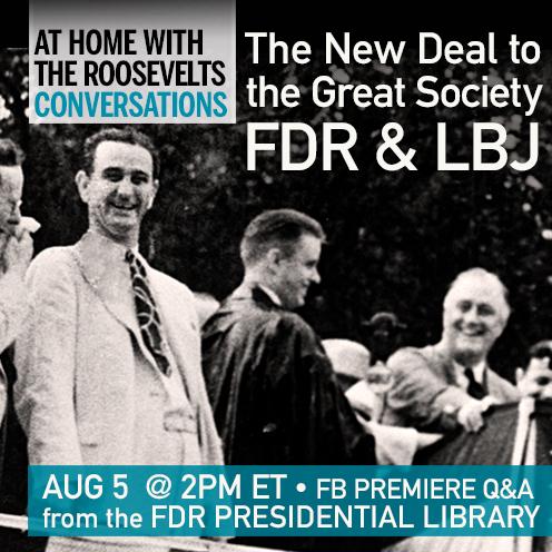 FDR & LBJ Facebook Premiere