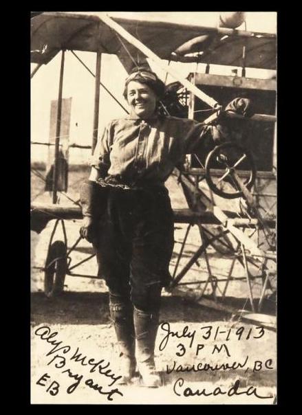 Alys McKey Bryant Commemorative Postcard
