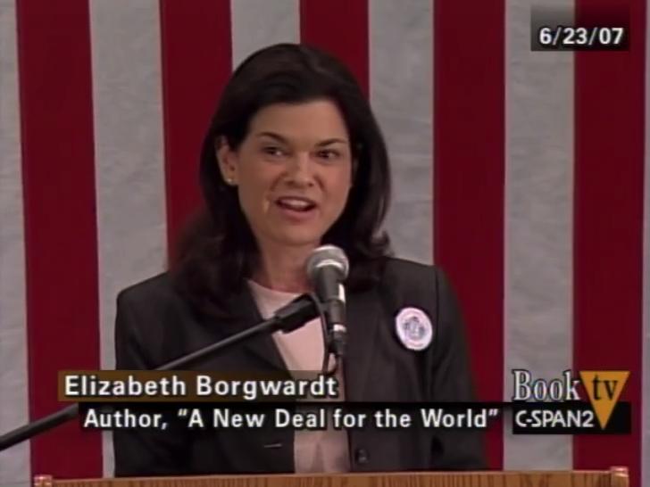 American historian and lawyer Elizabeth Borgwardt