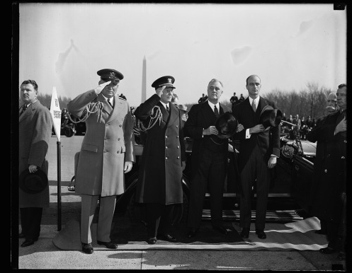 FDR at the Lincoln Memorial