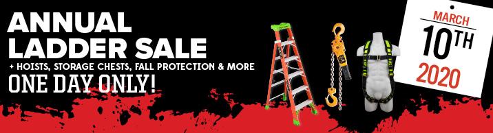 Annual Ladder Sale