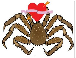 valentine king crab
