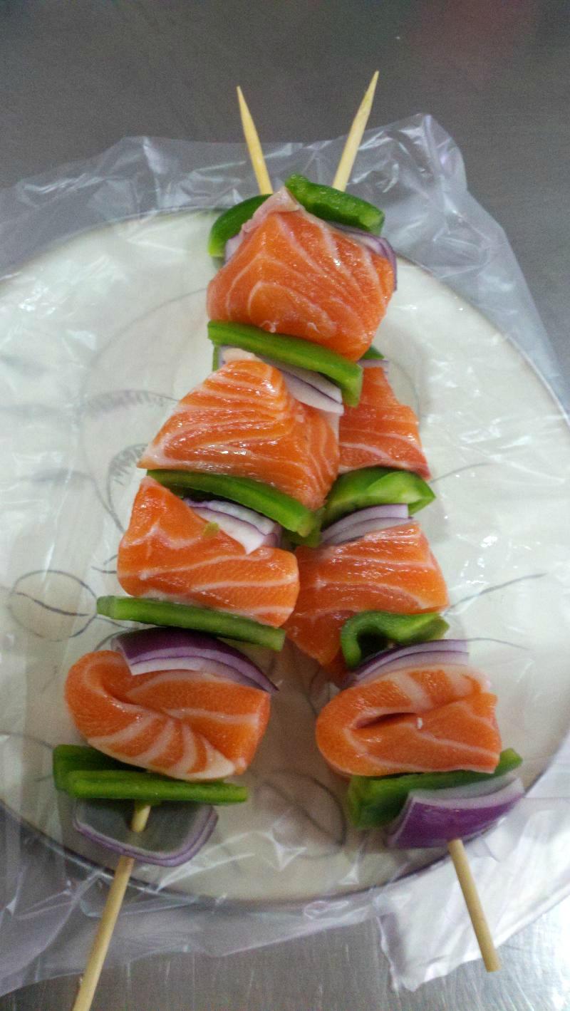 Salmon Kabobs