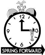 Spring Forward Clock