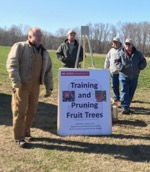 Picture of training and pruning fruit trees seminar