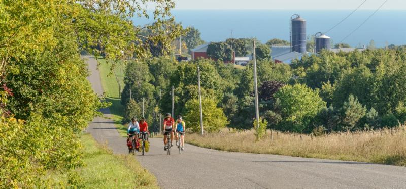 Cycling in Northumberland County