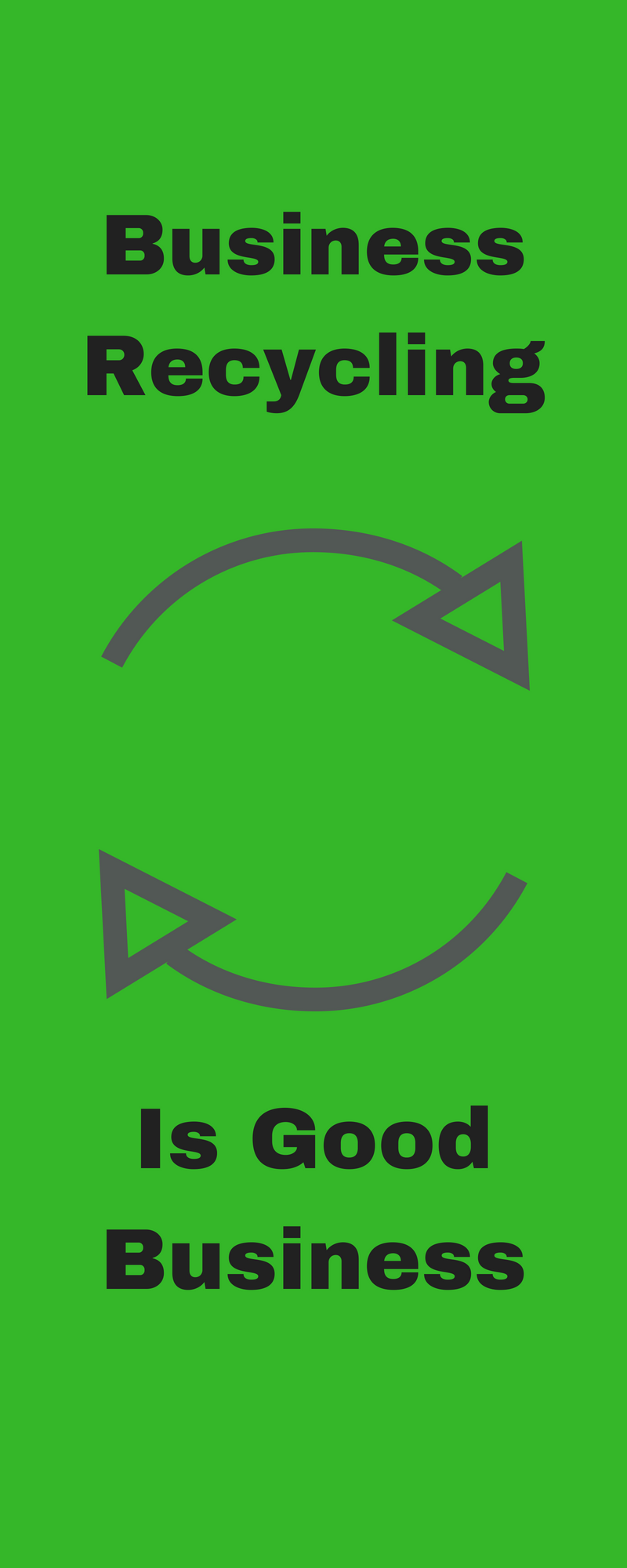 Business Recycling Icon