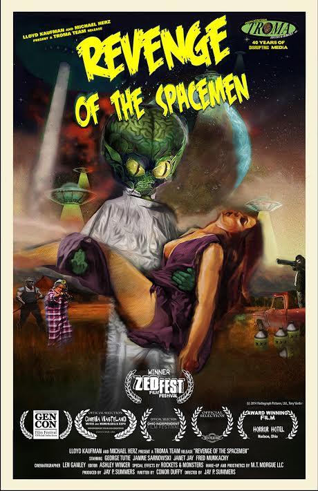 Troma Entertainment to Distribute Retro Alien Anal Probe ...