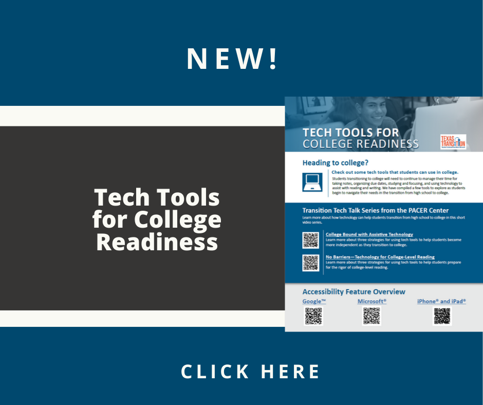 Cover of the Tech Tools for College Readiness Fact Sheet