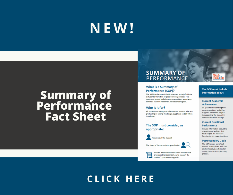 Cover of the Summary of Performance Fact Sheet