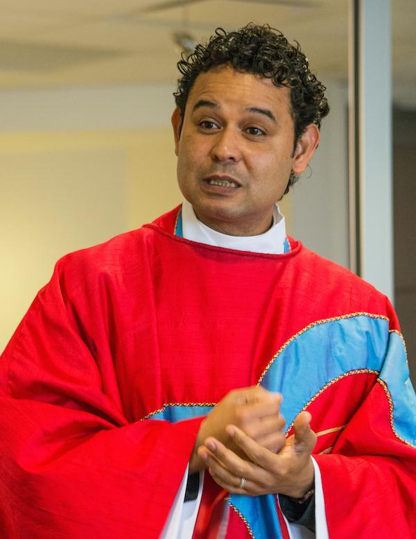 Conrado preaching