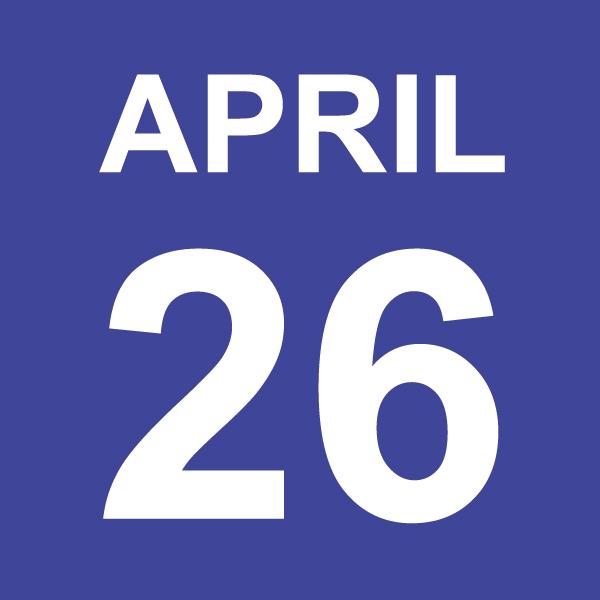 April 26