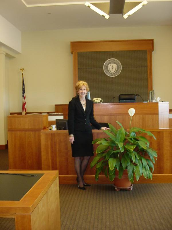 Attorney Ryan in Courtroom