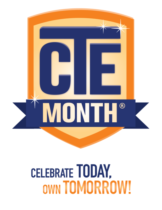 Official ACTE CTE Month logo