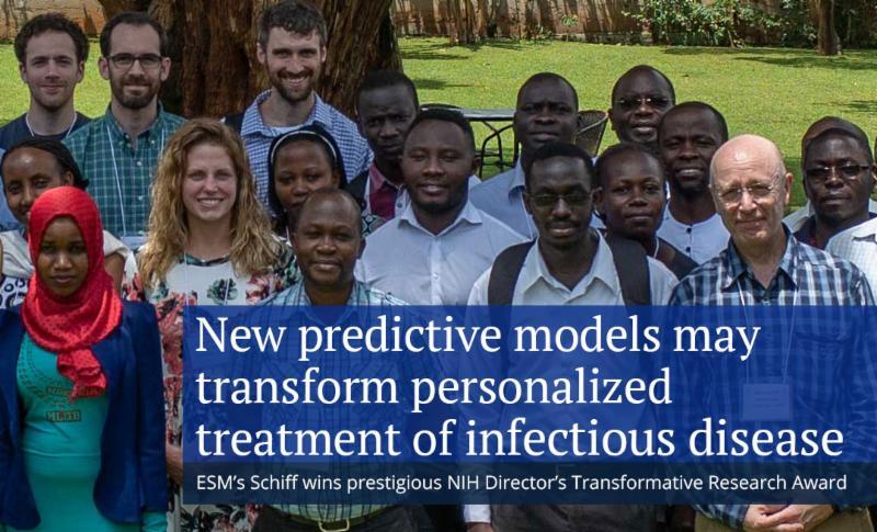 Steve Schiff wins prestigious NIH research award