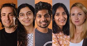 SBP 2020 graduate students