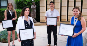 Fishman Fund Award 2020 winners group photo