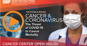 Cancer Center Open House video graphic