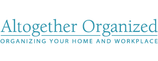 Altogether Organized Logo