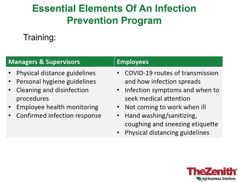 """Poster """"Essential Elements of An Infection Prevention Program"""""""