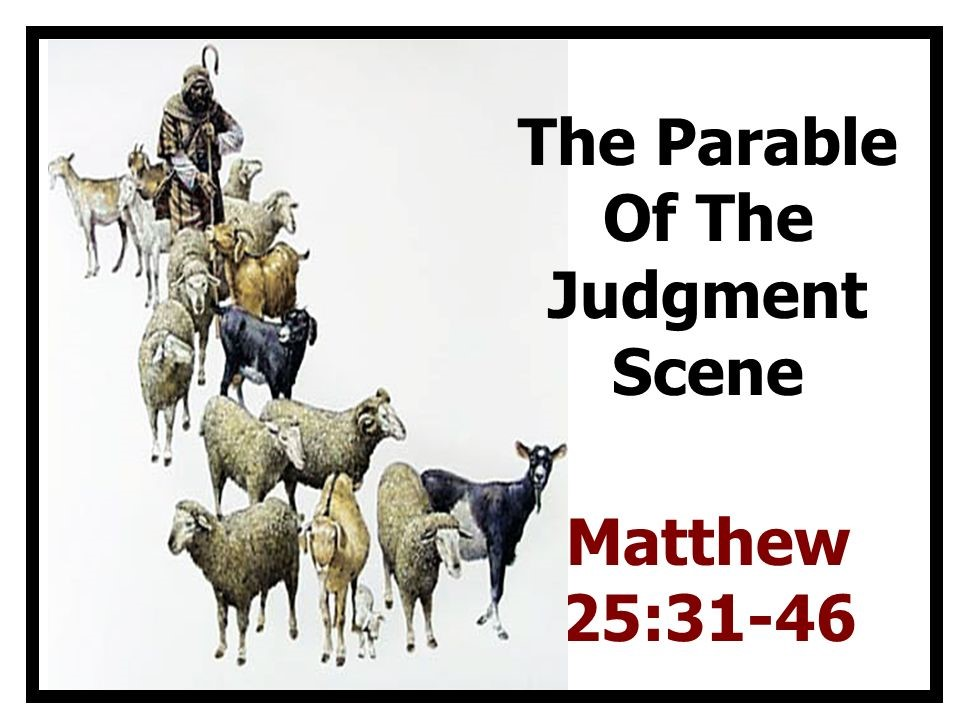 Parable of the Judgment Scene