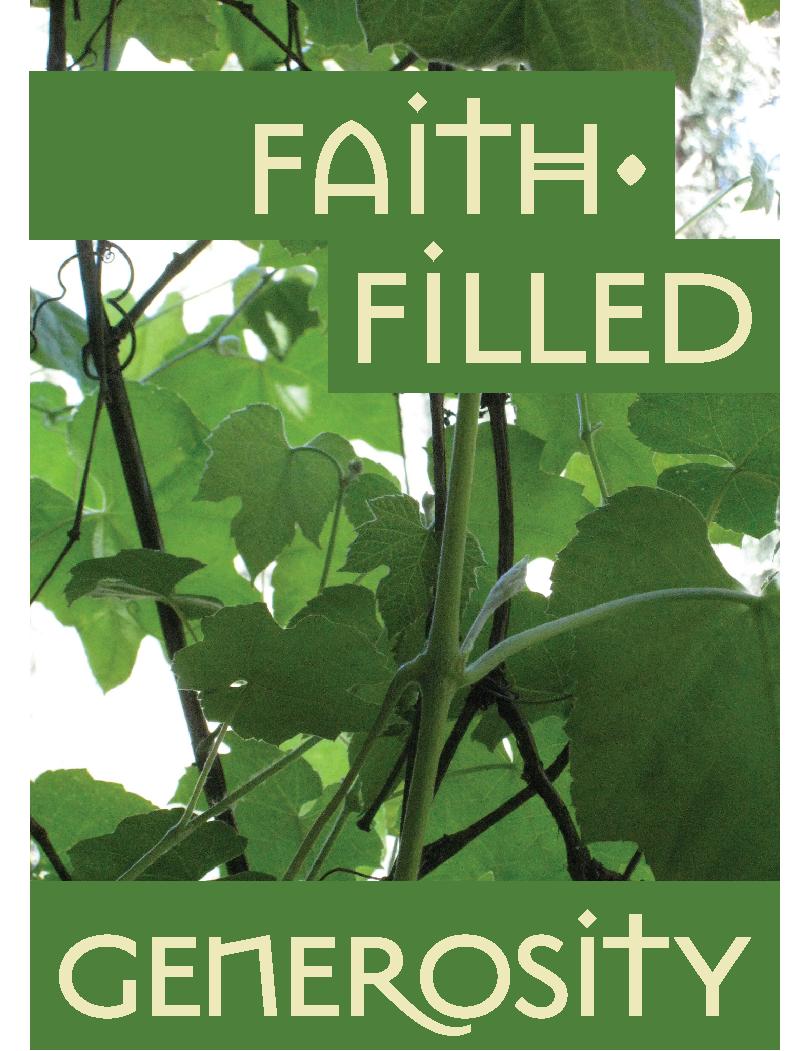 Faith Filled Generosity