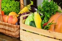 basket of fall crops