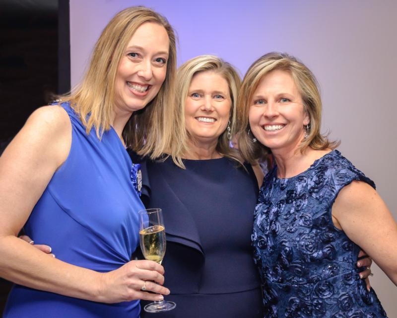 Ladies in Blue at 2019 Gala