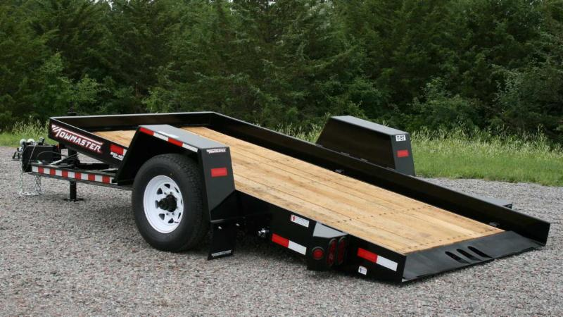 Towmaster Drop-Deck Tilt Trailers
