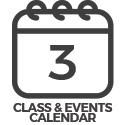 Classes & events calendar