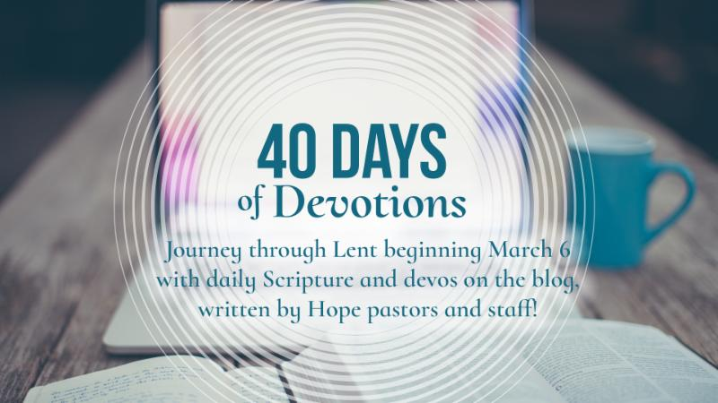 40 Days of Devotions