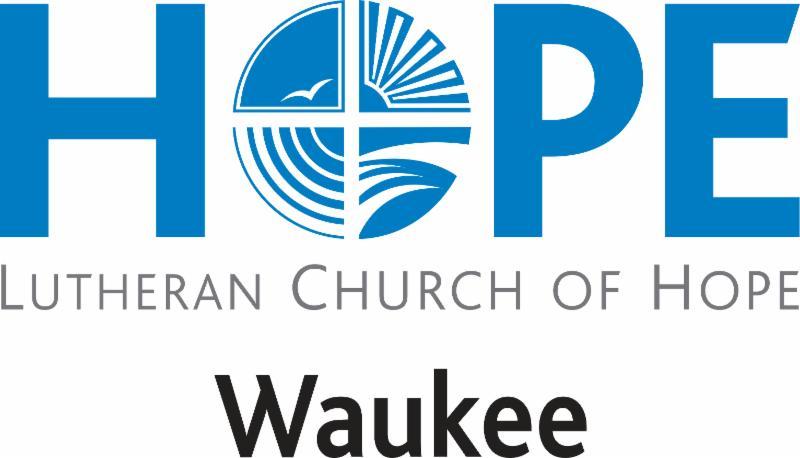 Lutheran Church of Hope Waukee logo