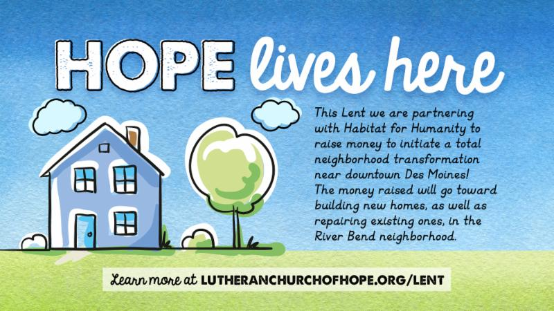 Hope Lives Here campaign