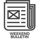 Weekend bulletin