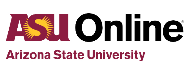 Arizona State University Online Logo