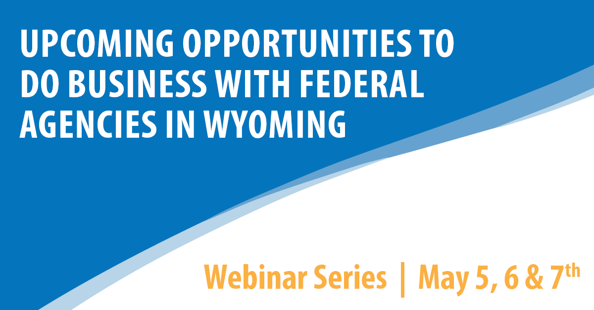 Government Contracting Webinar Series