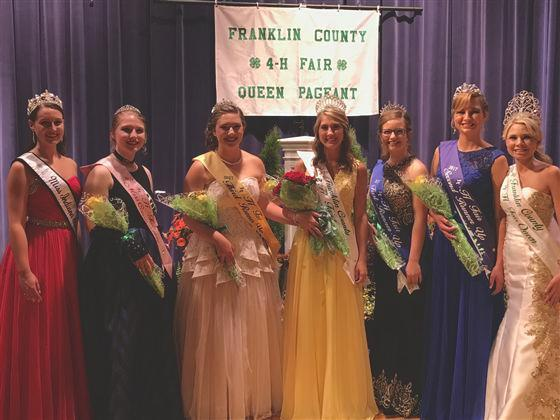 Franklin County 4-H Fair Event Schedule: Issue 761