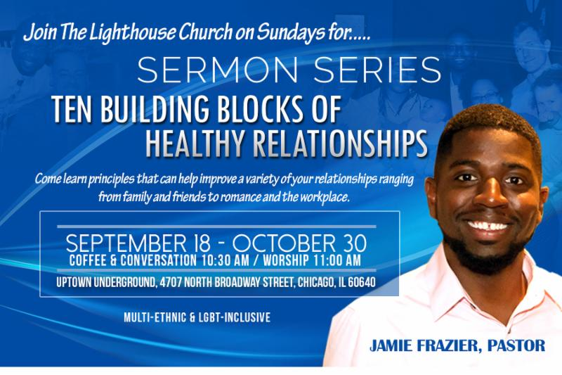 NEW Sermon Series begins THIS Sunday, 9/18