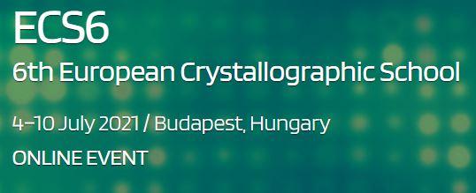 6th European Crystallographic School (ECS6)