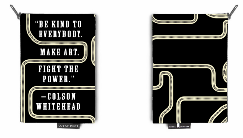 Colson Whitehead Fight the Power pouch_ only on Independent Bookstore Day